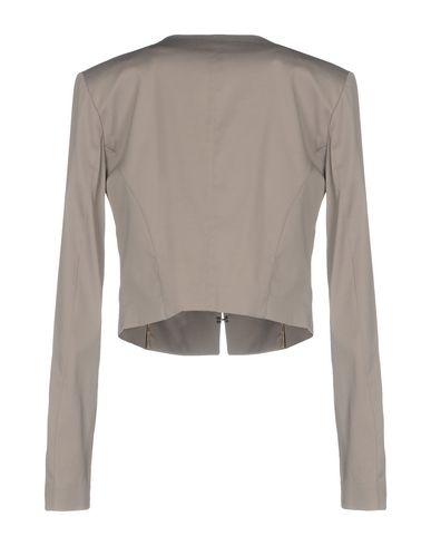 Фото 2 - Женский пиджак HANITA серого цвета