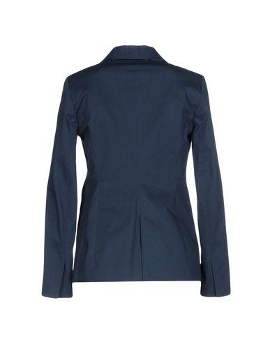 Фото 2 - Женский пиджак CHRISTIAN PELLIZZARI темно-синего цвета