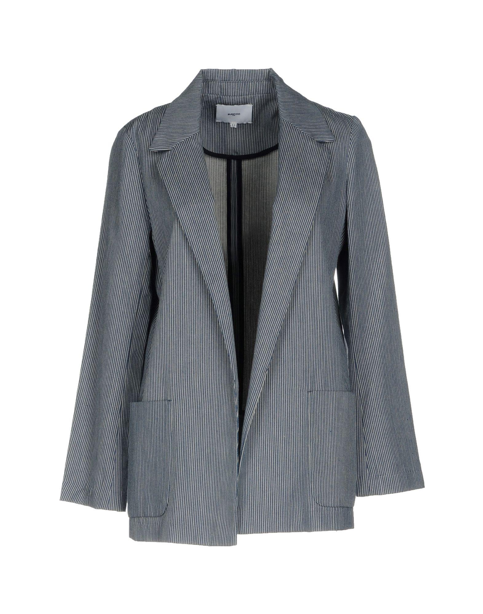 SUNCOO Blazer in Slate Blue
