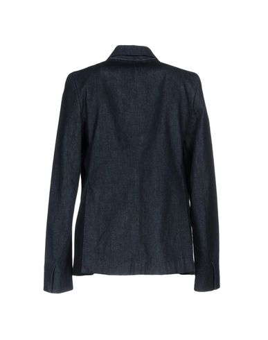 Фото 2 - Женский пиджак BARENA синего цвета