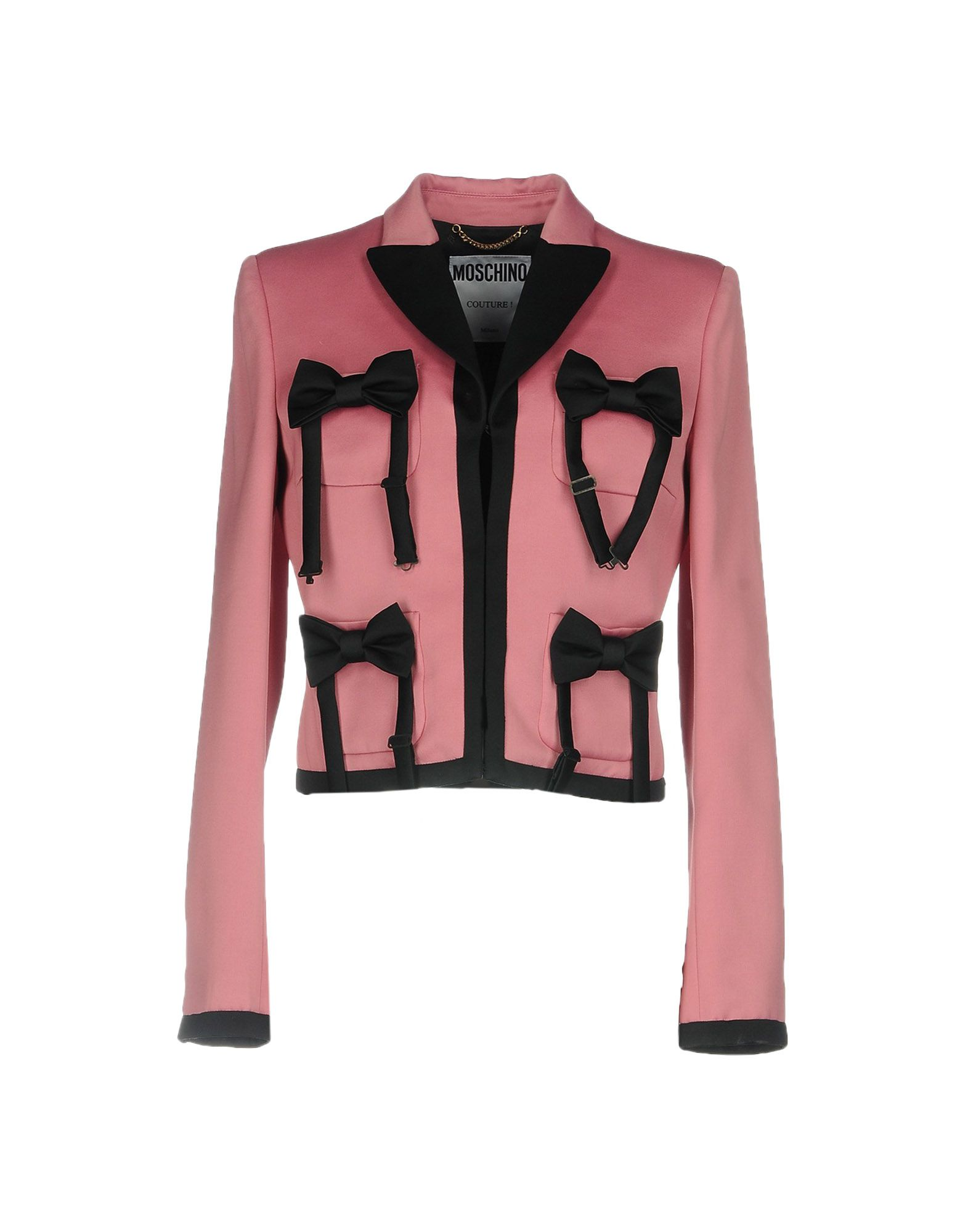 Outfit | MOSCHINO COUTURE Damen Jackett Farbe Rosa Größe 5