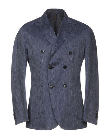 Купить Мужской пиджак LABORATORI ITALIANI темно-синего цвета