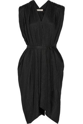 ETRO Textured-silk dress