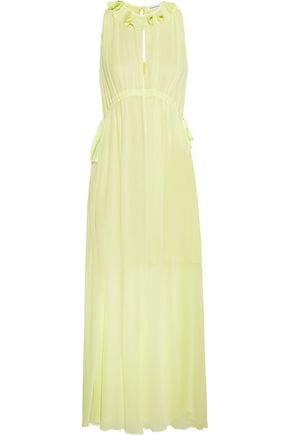 CARVEN Crepe maxi dress