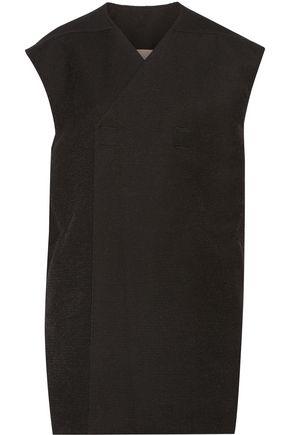 RICK OWENS Camerun cotton-blend canvas vest
