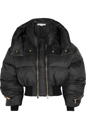 STELLA McCARTNEY Megane cropped quilted shell jacket
