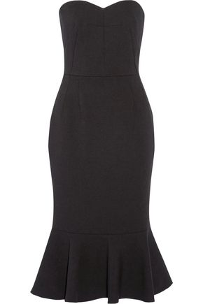 DOLCE & GABBANA Stretch-wool crepe midi dress