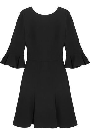 DOLCE & GABBANA Open-back stretch-crepe dress
