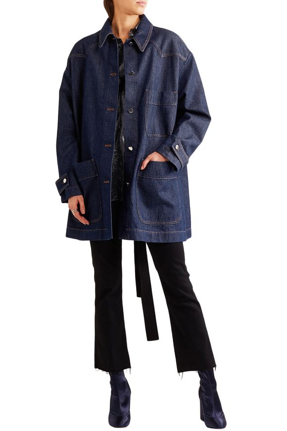 Oversized denim jacket | MM6 MAISON MARGIELA | Sale up to 70% off | THE  OUTNET
