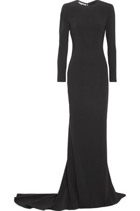 STELLA McCARTNEY Renee open-back stretch-crepe gown