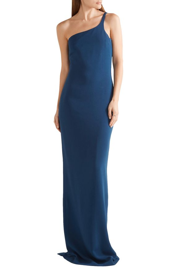 Mirabella cape-effect stretch-cady gown | STELLA McCARTNEY | Sale up to 70%  off | THE OUTNET