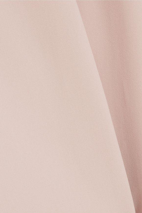 652633845577 Chain-embellished stretch-crepe halterneck gown
