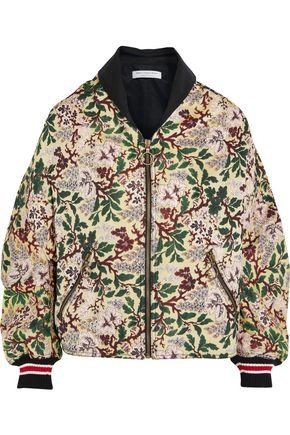 PHILOSOPHY di LORENZO SERAFINI Floral-jacquard bomber jacket