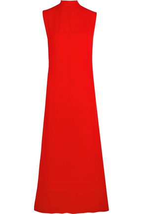 MARNI Open-back crepe midi dress