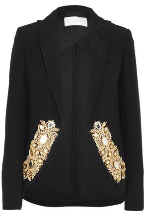 ANTONIO BERARDI Embellished cady blazer