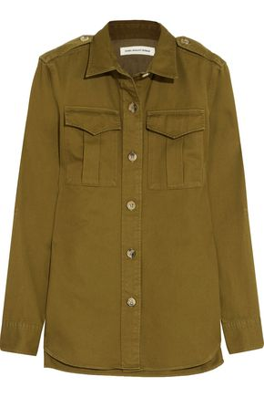 ISABEL MARANT ÉTOILE Obrian cotton-twill shirt