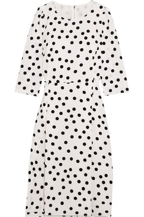DOLCE & GABBANA Polka-dot cady dress