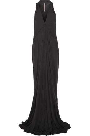 RICK OWENS Stretch-jersey maxi dress