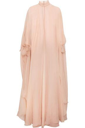 VALENTINO Silk-chiffon gown