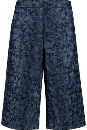 DKNY Embroidered tulle shorts