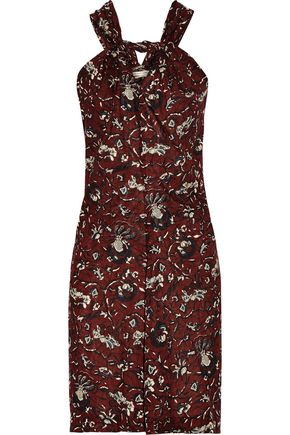 ISABEL MARANT ÉTOILE Aba printed cotton-voile mini dress