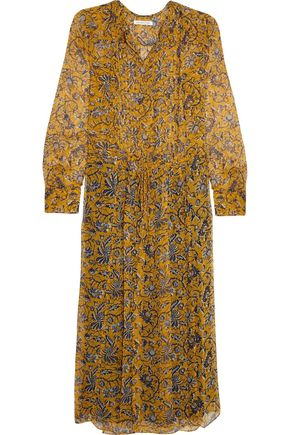 ISABEL MARANT ÉTOILE Baphir printed silk midi dress