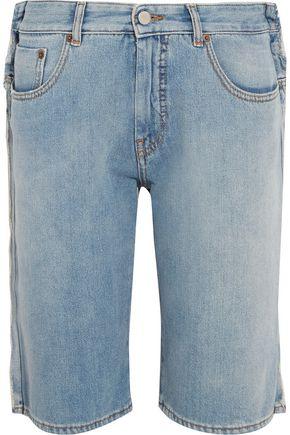 MM6 by MAISON MARGIELA Distressed denim shorts