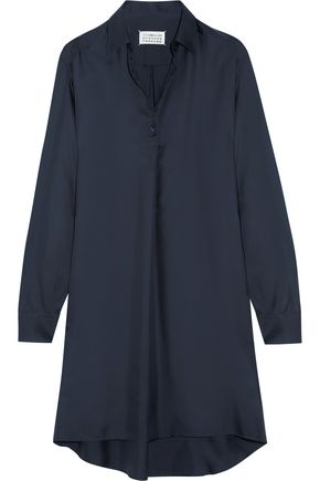 MAISON MARGIELA Silk-twill shirt dress