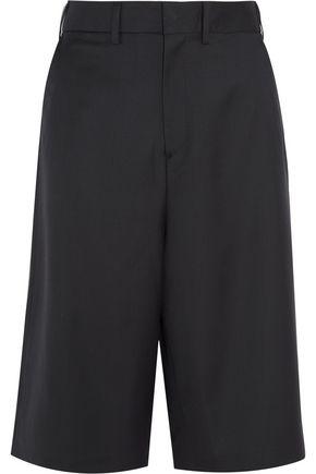 + Brioni split-back wool shorts
