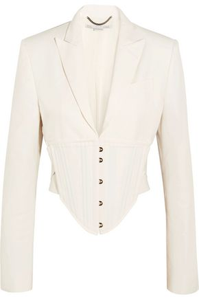 abigail-cropped-cutout-cady-jacket by stella-mccartney