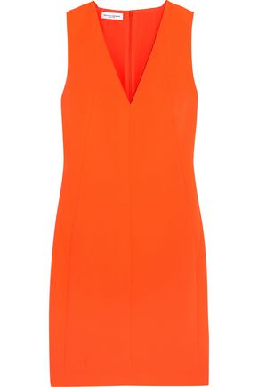 NARCISO RODRIGUEZ Neon crepe dress