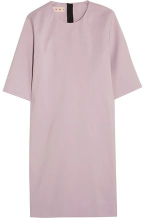 MARNI WOMAN COTTON MINI DRESS LILAC