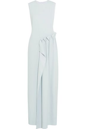 MAISON MARGIELA Ruffled crepe gown