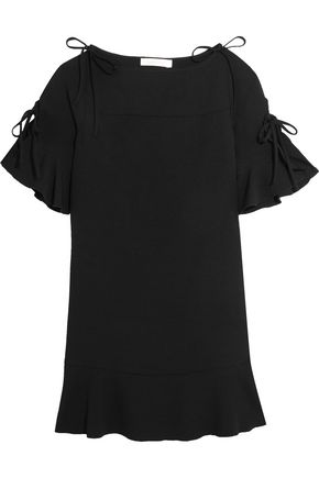 SEE BY CHLOÉ Ruffled crepe mini dress