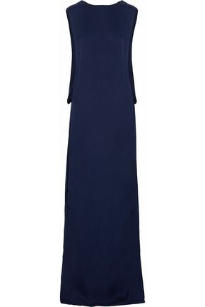 LANVIN Draped crepe gown