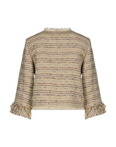 Фото 2 - Женский пиджак  цвет песочный