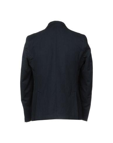 Фото 2 - Мужской пиджак EXIBIT темно-синего цвета