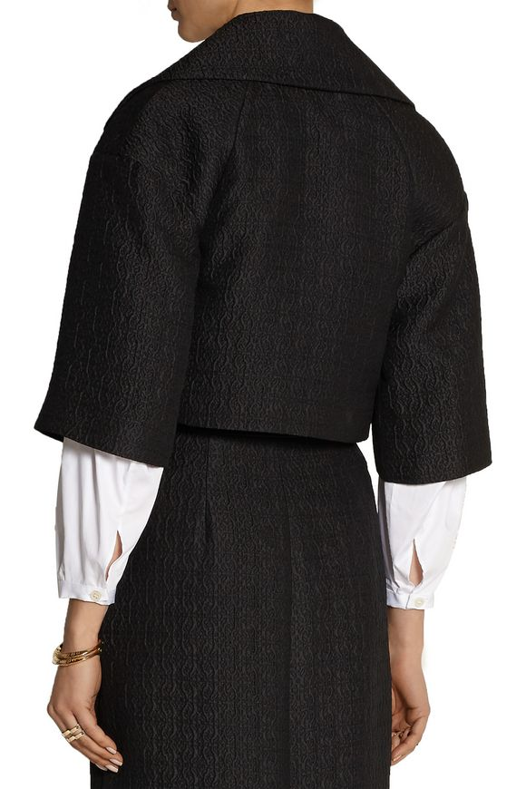 Marino cropped matelassé jacket | TEMPERLEY LONDON | Sale up to 70% off |  THE OUTNET