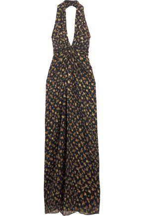 DIANE VON FURSTENBERG Evelina printed silk-chiffon gown