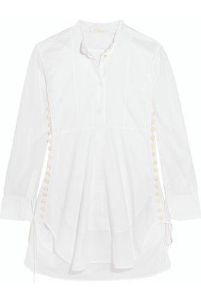 CHLOÉ Cotton-voile mini dress