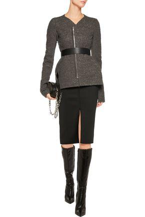 RICK OWENS Aurelia cotton-blend bouclé jacket