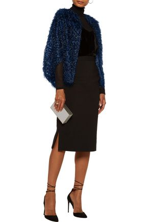 LELA ROSE Fil coupé organza jacket