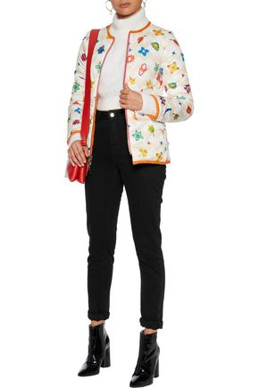 MISSONI Quilted printed shell jacket