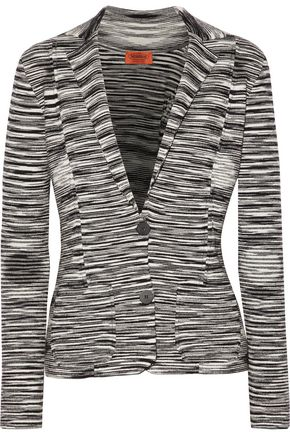 MISSONI Jacquard-knit wool-blend jacket