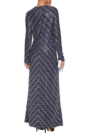 MISSONI Embellished tulle maxi dress