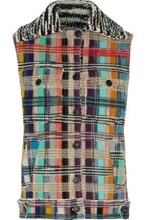 MISSONI Wool-blend bouclé vest