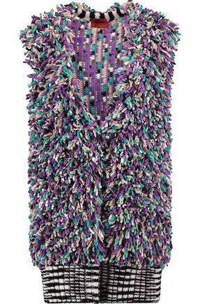 MISSONI Paneled cashmere-blend bouclé vest
