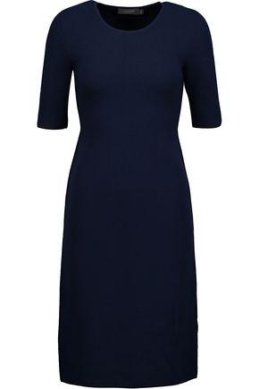 CALVIN KLEIN COLLECTION Shelley stretch-cloqué midi dress