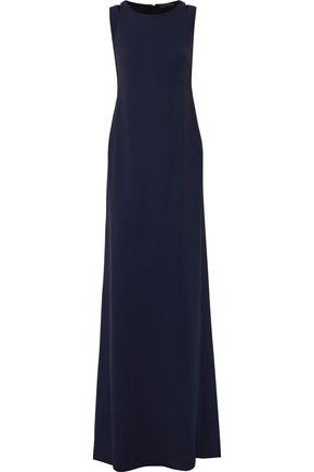 CALVIN KLEIN COLLECTION Cutout crepe gown