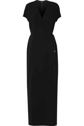 Gabi crepe wrap maxi dress | CALVIN KLEIN COLLECTION | Sale